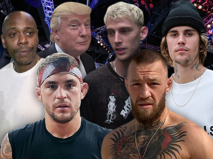 Celebs to attend UFC 264