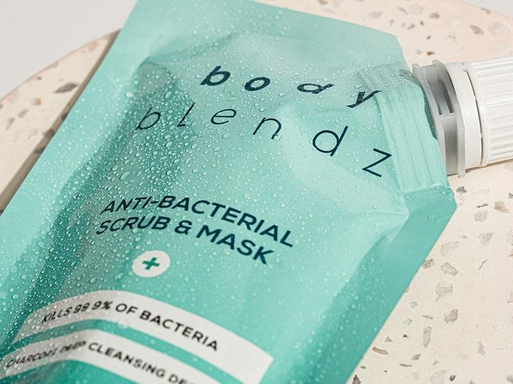 body blendz anti bacterial scrub and mask