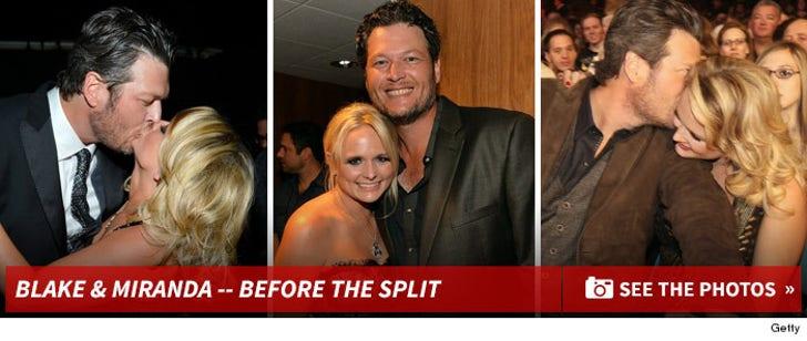 Blake Shelton & Miranda Lambert -- Before the Split