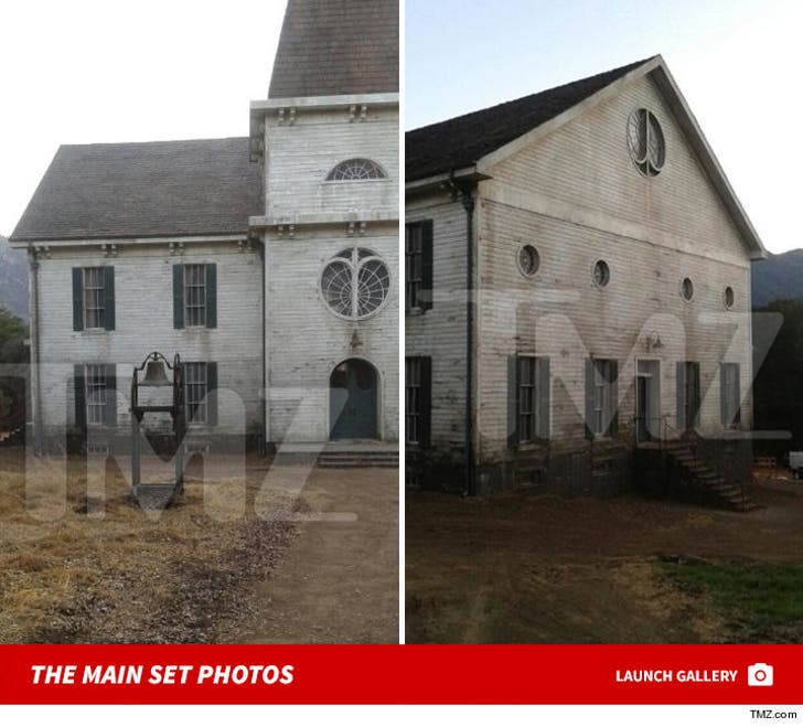 """American Horror Story"" -- Set Photos"