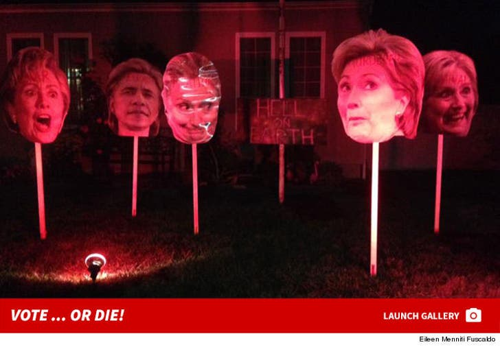 Hillary Clinton Haunted House