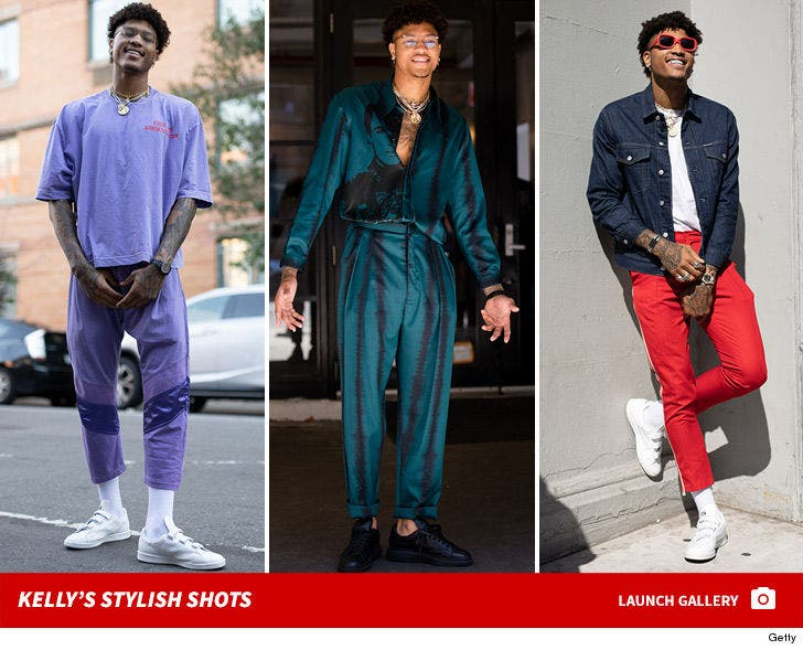 Kelly Oubre Jr. -- Stylish Shots