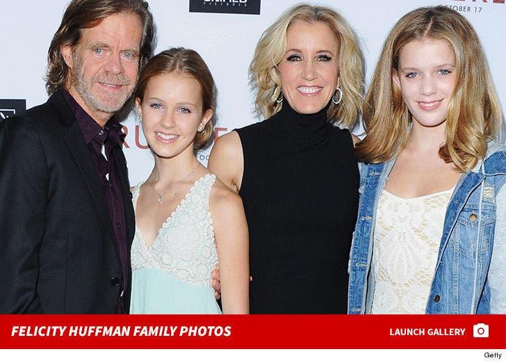 Felicity Huffman Family Photos