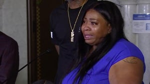 Mother of George Floyd's Daughter Gets Emotional Over His Death