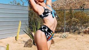 Bendy Babes -- Stars Strike A Yoga Pose!
