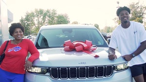 Bills Star Rookie Greg Rousseau Surprises Mom With New Jeep!