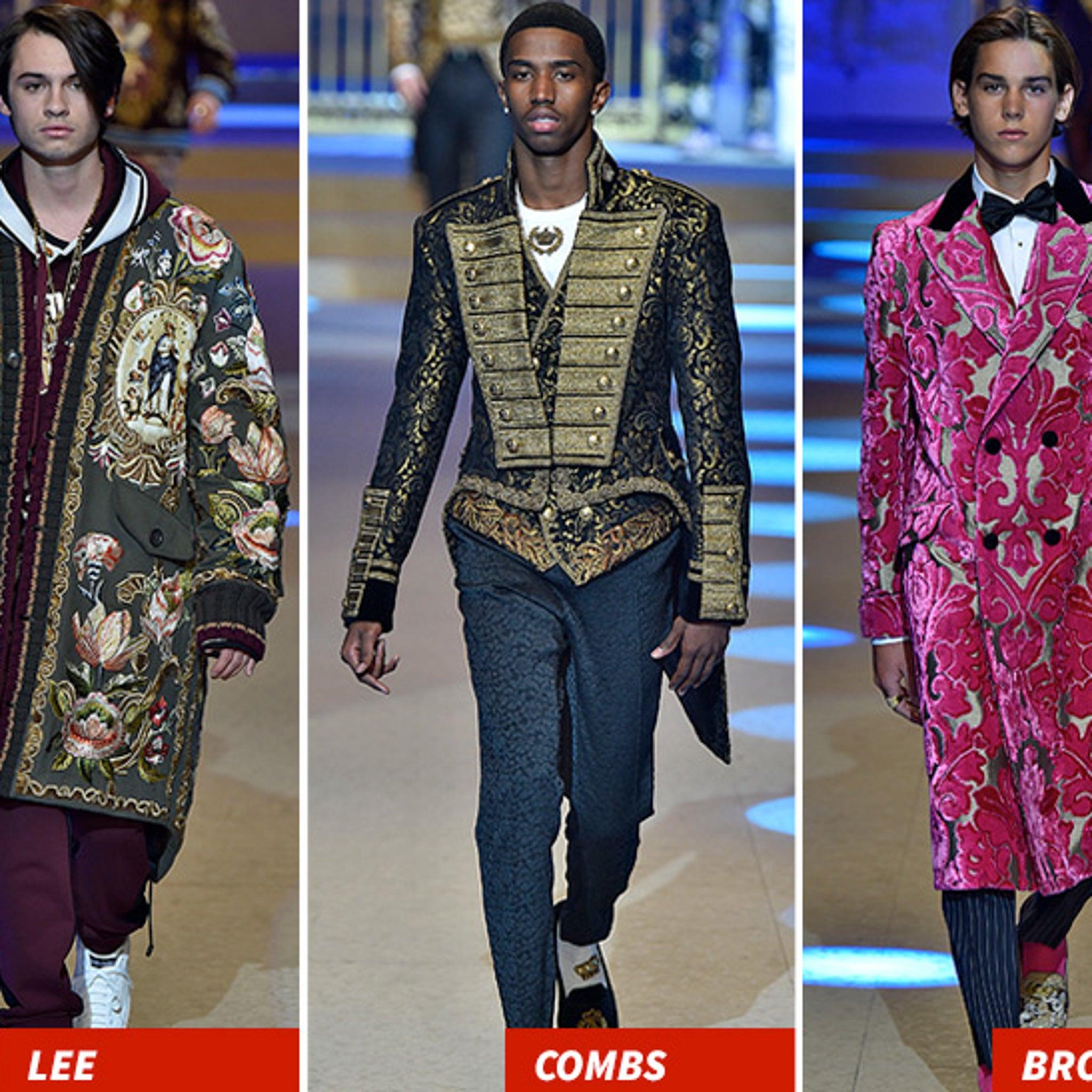 b762617d97 Milan Fashion Week's Dolce & Gabbana Show Featured a Ton of Celeb's Kids