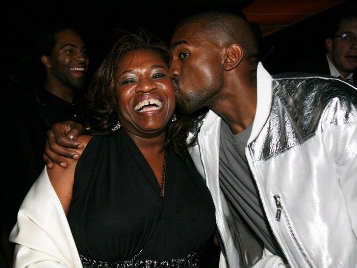 Kanye and Donda West Photos