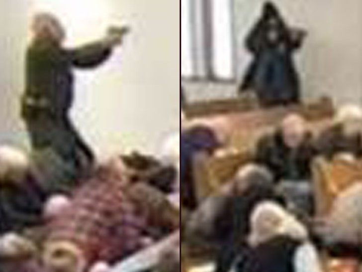Gunman Opens Fire in Texas Church, Armed Guard Was Ready to Shoot Back - EpicNews