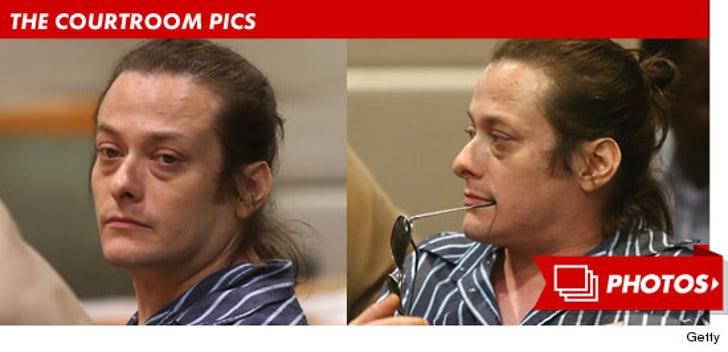 Edward Furlong's Court Photos
