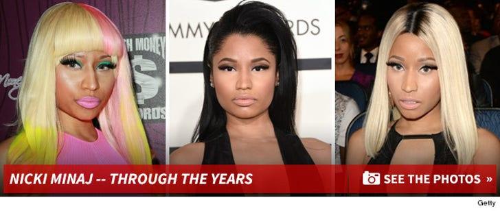 Nicki Minaj -- Through the Years