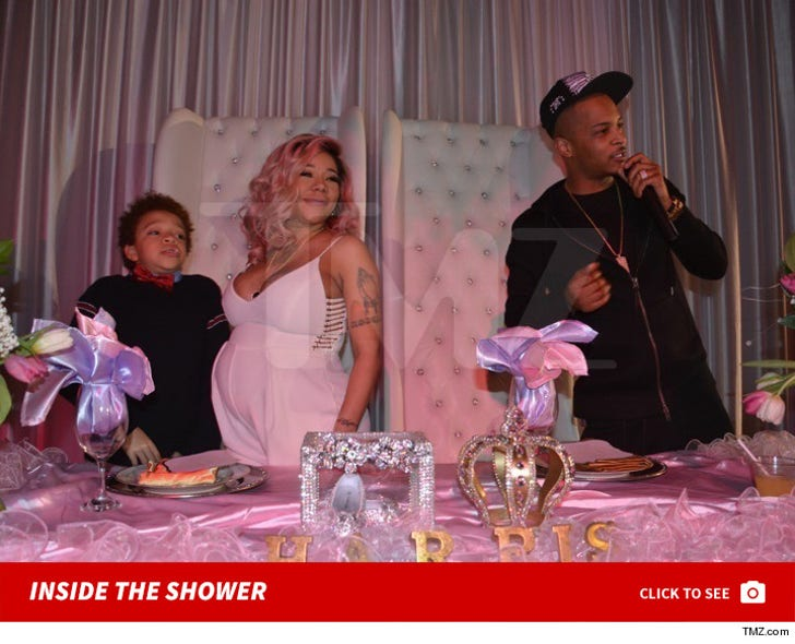 Inside T.I. and Tiny's Baby Shower