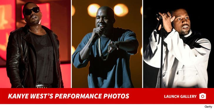 Kanye West -- Live Performance Photos