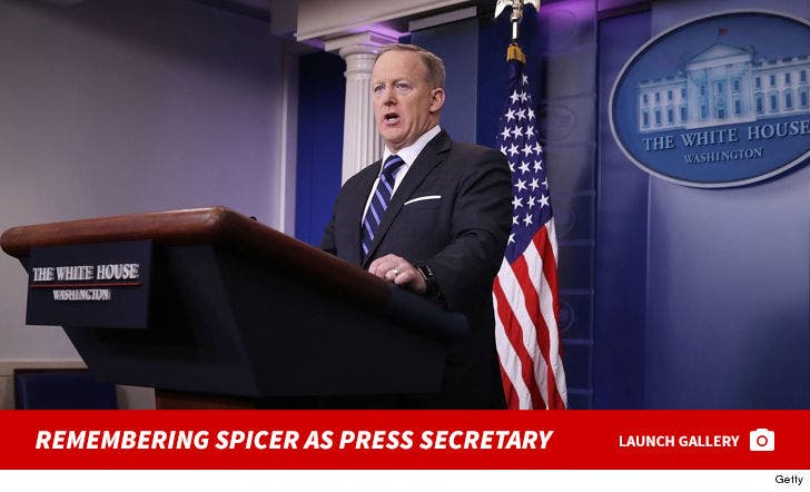 Remembering Spicer As The Press Secretary
