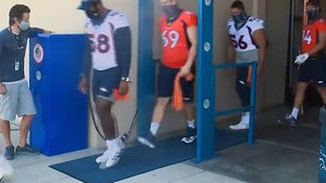 Denver Broncos Install COVID Disinfectant 'Misting Booth' to Spray Players