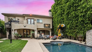 Tyrese Selling Mansion With Bumblebee Transformer in Backyard