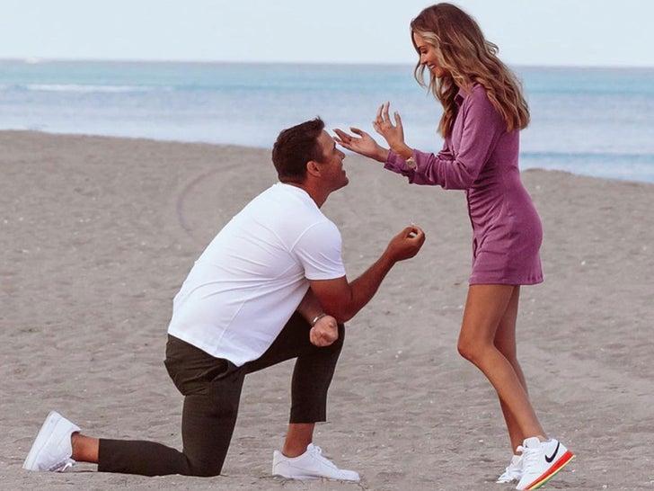 Brooks Koepka and Jena Sims' Engagement