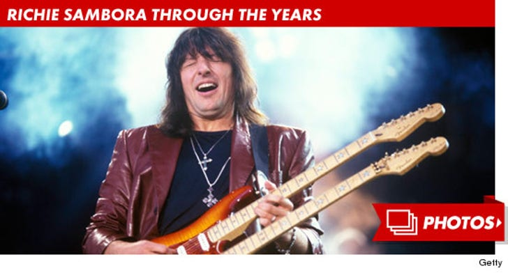 Richie Sambora Through the Years