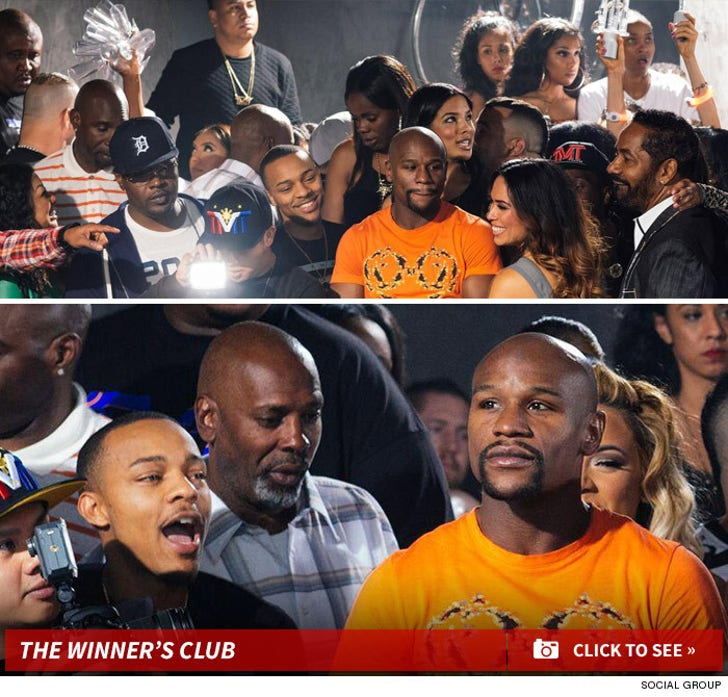 Floyd Mayweather's Epic Party