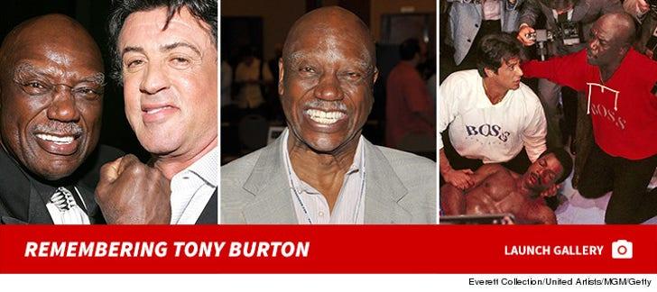 Remembering Tony Burton
