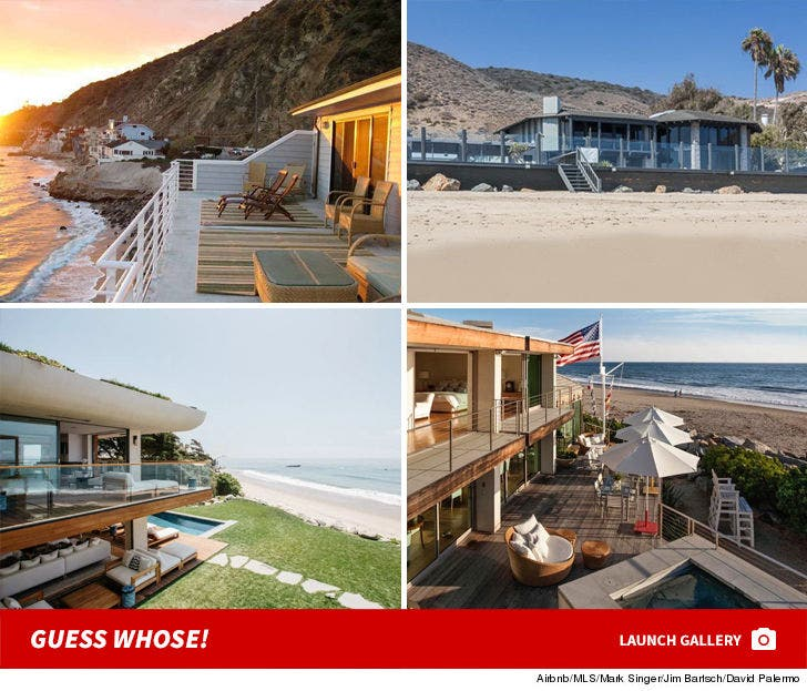 Celebrity Beach Houses -- Guess Whose!