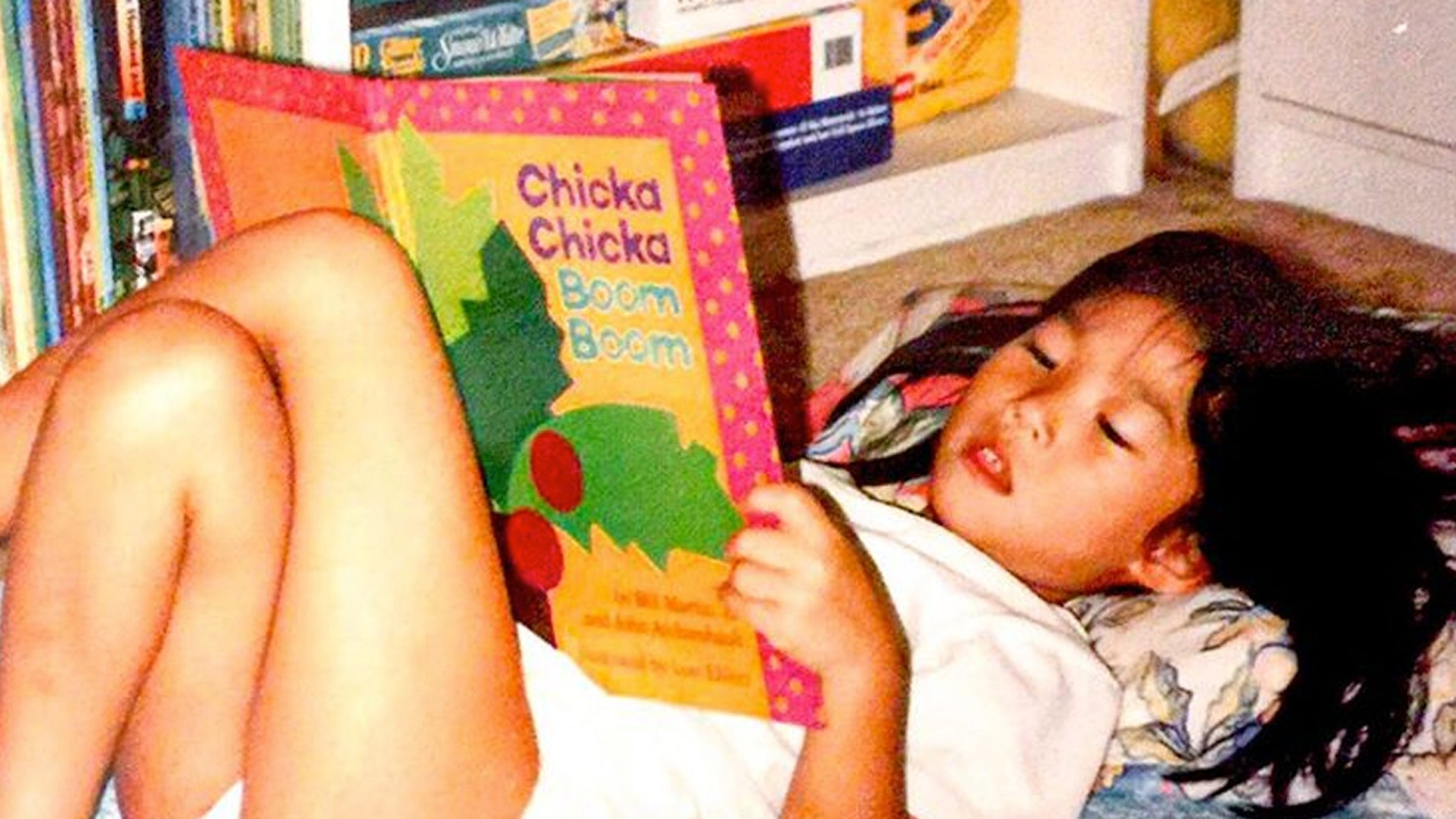 Guess Who This Reading Runt Turned Into!