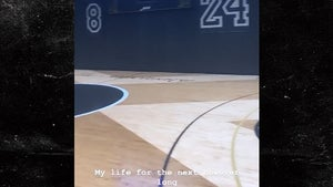 Drake Honors Kobe Bryant At Indoor Home Court With Number Tribute