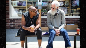 Dave Chappelle Hanging with David Letterman in His Ohio Hometown