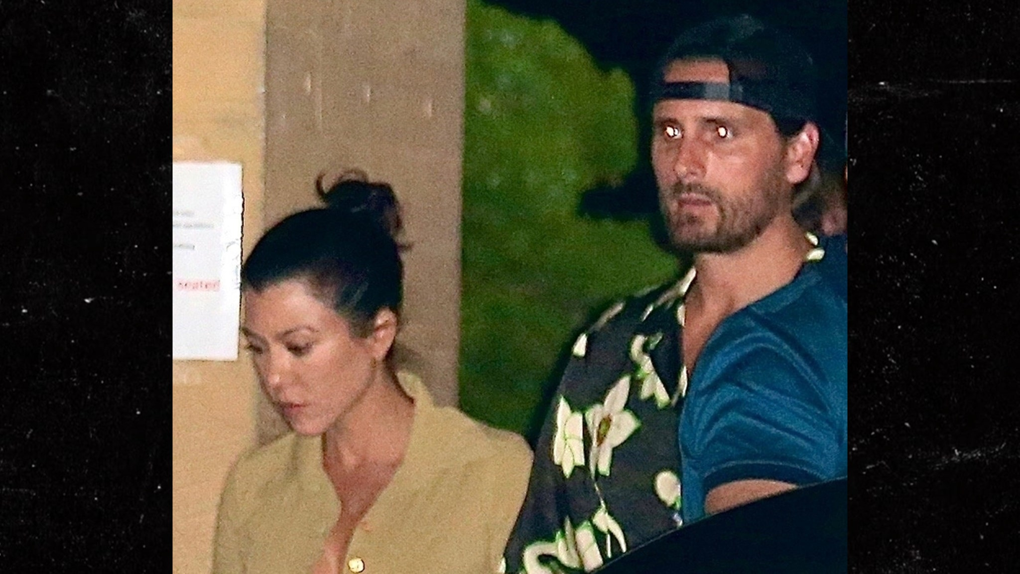 Scott Disick Two Exes at One Restaurant