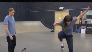 Tony Hawk Gives Skate Lesson To TikTok Star Addison Rae, Here's How To Ollie!