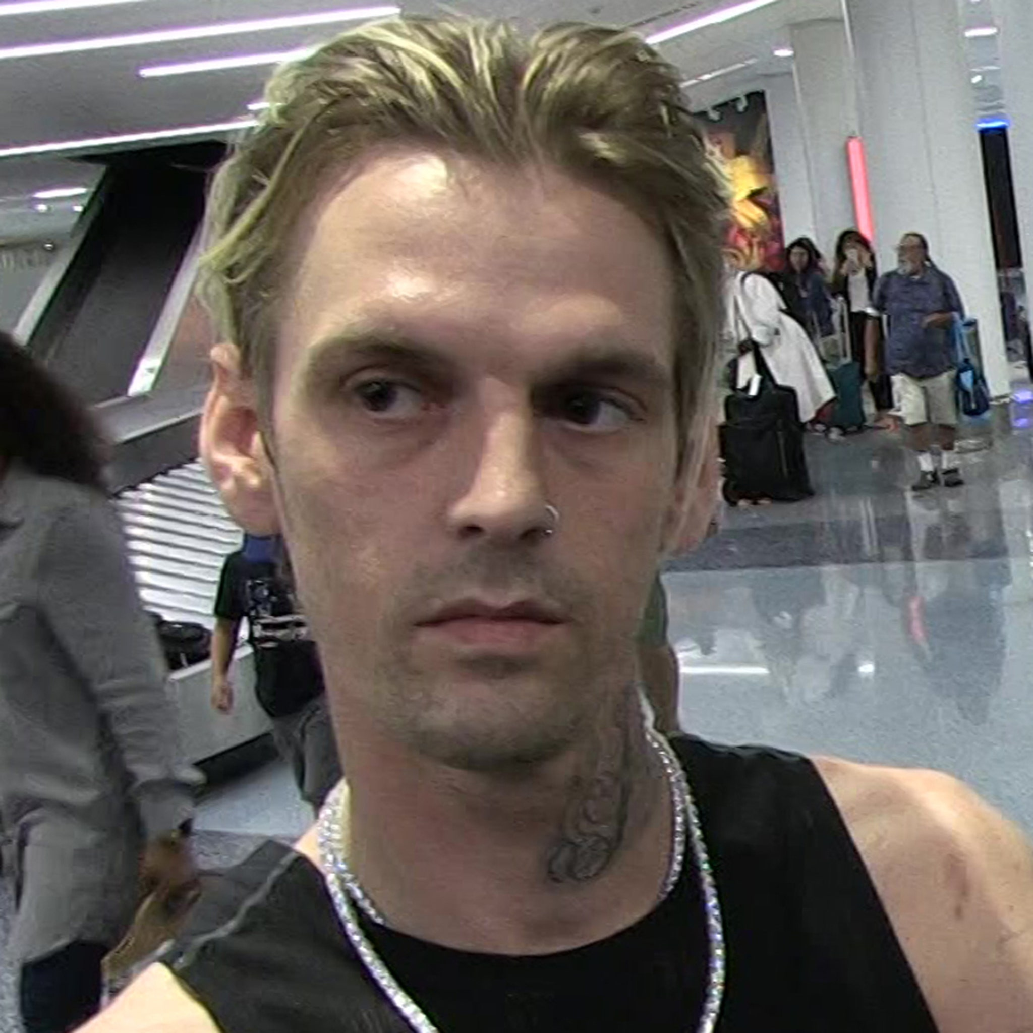 Aaron Carter Goes Nuts in Court After Judge Orders Him to Surrender Guns
