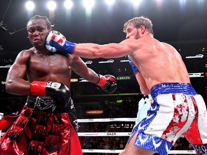KSI vs. Logan Paul -- Fight 2 Photos