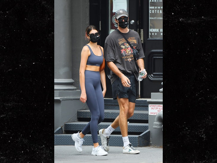 Kaia Gerber Heads To Gym With Rumored New Boyfriend Jacob Elordi