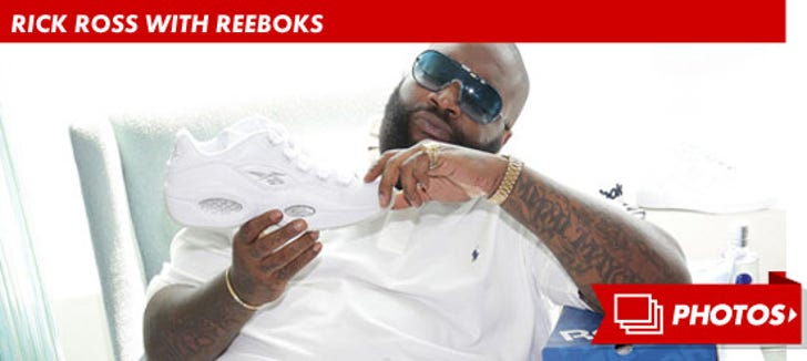 Rick Ross With Reeboks