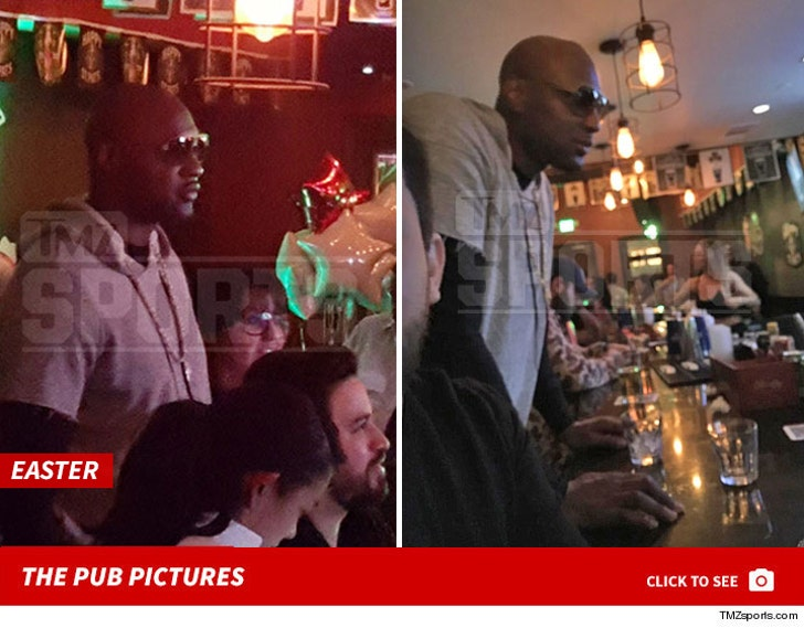 Lamar Odom -- The Pub Pictures