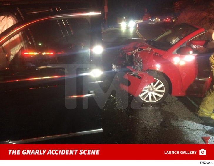 Calvin Harris' Car Crash