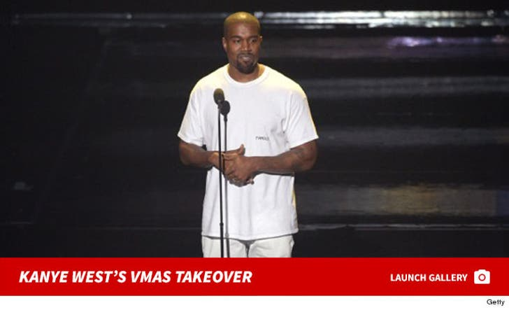 Kanye West Takes Over the VMAs