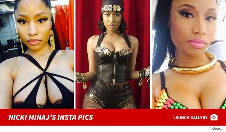 Nicki Minaj's Sexy Snapshots
