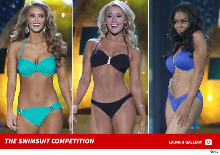 2017 Miss America Competition -- The Swimsuit Shots
