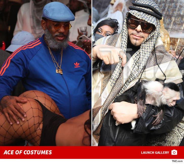 Mally Mall's Halloween -- Monkey Tricks and Strip Club Treats