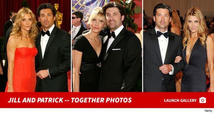 Patrick and Jill Dempsey -- Together Again
