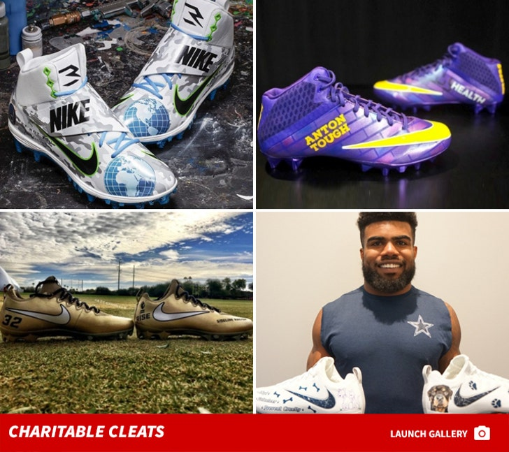 NFL Custom Cleats -- My Cause, My Cleats
