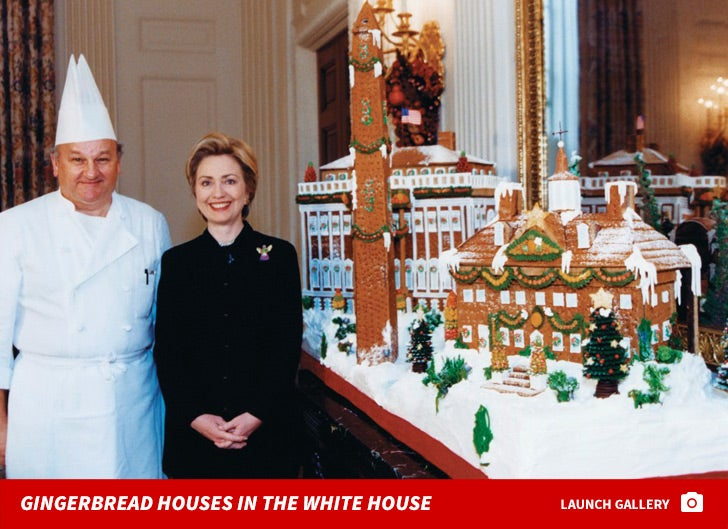 Gingerbread Houses in the White House