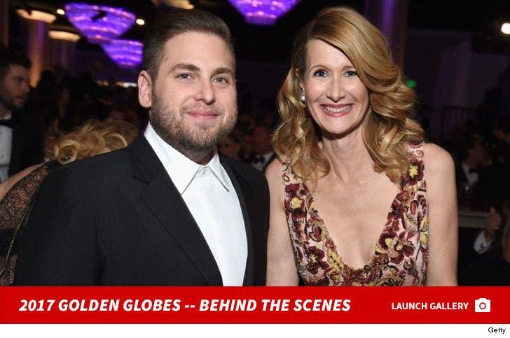 2017 Golden Globes -- Behind the Scenes