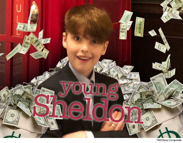 Does Identifying Armitage As Original >> Young Sheldon Star Iain Armitage Could Be A Millionaire From Season