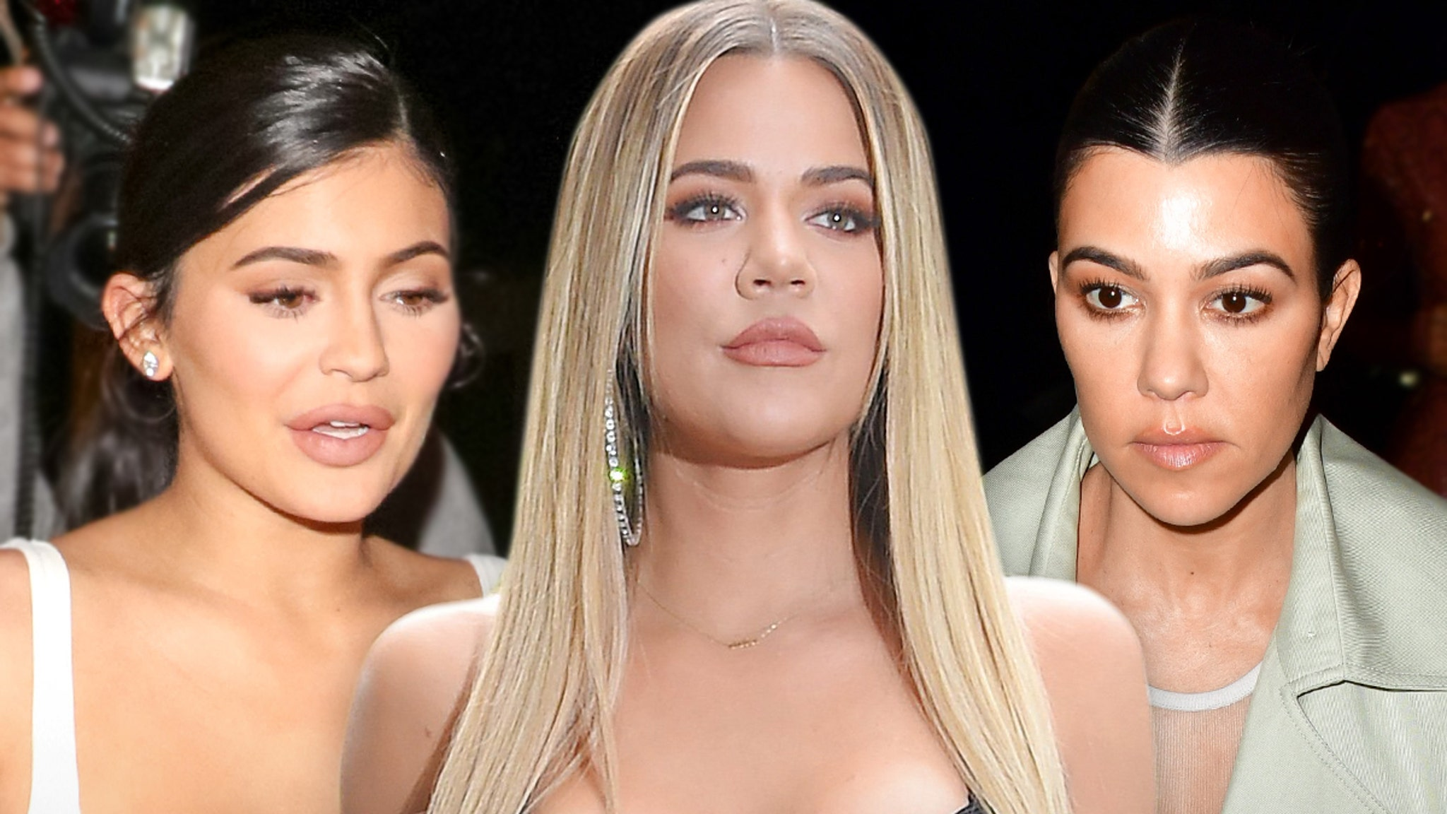 Kylie, Khloe and Kourtney We Don't Have Written Custody Agreements ... That's How We Roll