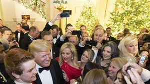 Donald and Melania Trump Throw Christmas Party for Members of Congress