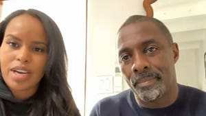 Idris Elba's Wife Tells Oprah She Tested Positive for Coronavirus with No Symptoms