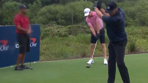 Tiger Woods, Peyton Manning Beat Tom Brady & Phil Mickelson In COVID-19 Match
