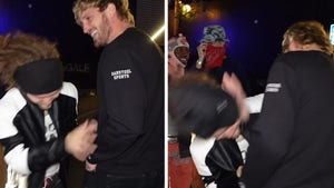 Logan Paul Smacks Heckler Outside L.A. Nightclub After Being Called 'P***y'